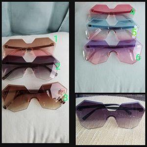 Accessories - sunglasses, The Colossein Orange, Colossein Blue